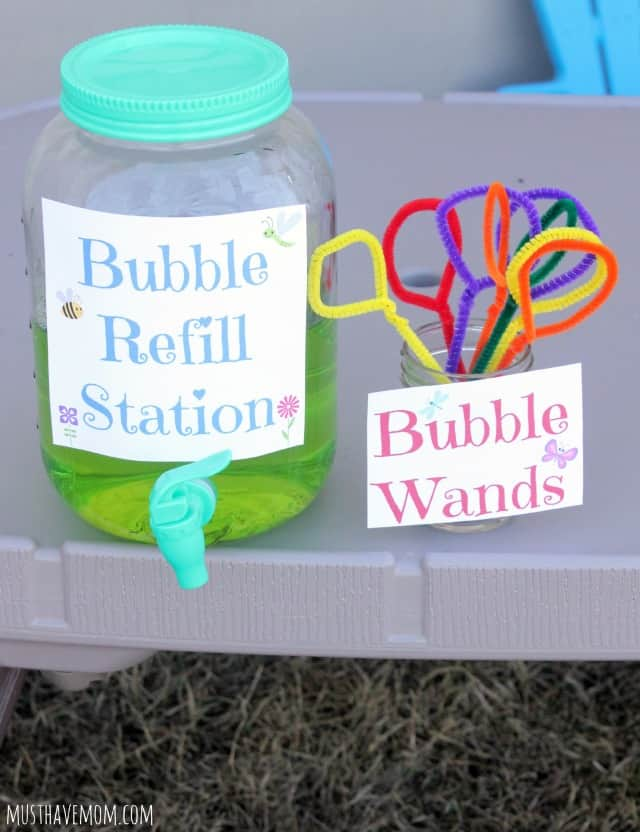 Homemade Bubbles Recipe