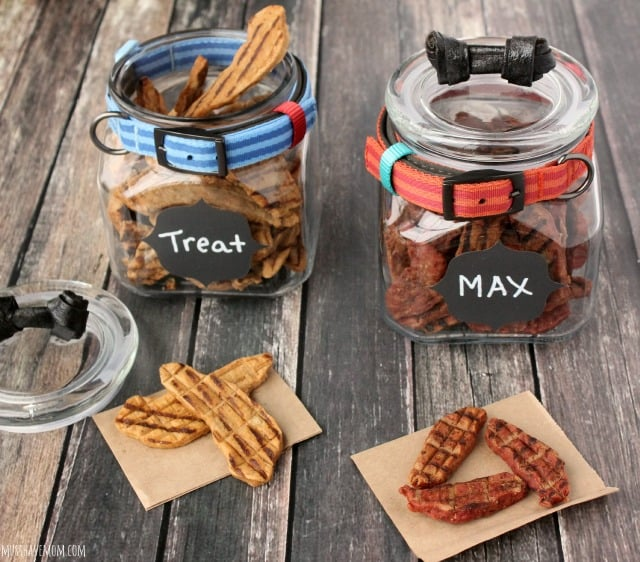 Mod Dog Treat Jar DIY