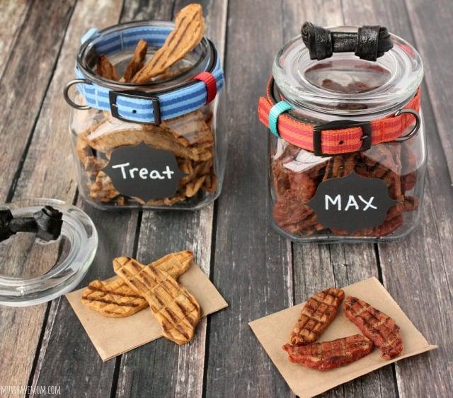 Mod Dog Treat Jar DIY