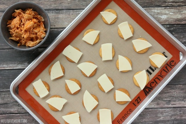 Ritz Buffalo Chicken Crackers with Provolone