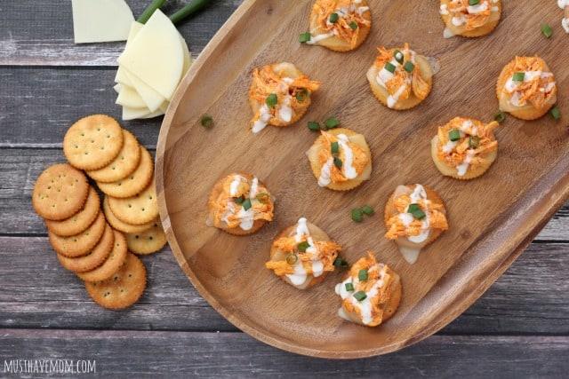 Spicy Buffalo Chicken Crackers Recipe