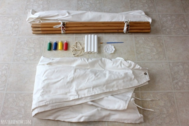 The Painting Teepee Supplies