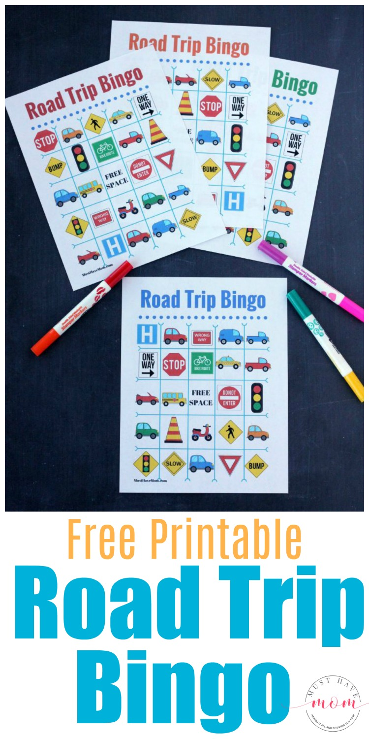 photograph about Travel Bingo Printable named Absolutely free Push Bingo Printable + Street Holiday vacation Basics!