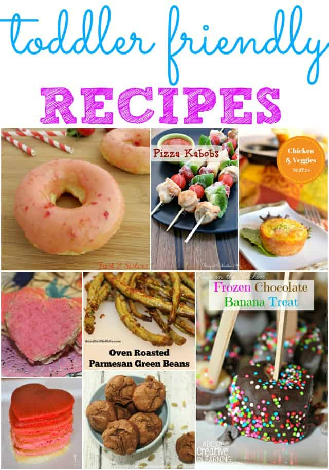 toddler friendly recipes