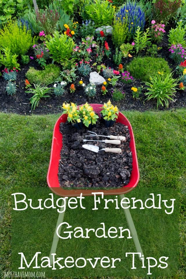 Budget friendly garden makeover tips for Garden makeover on a budget