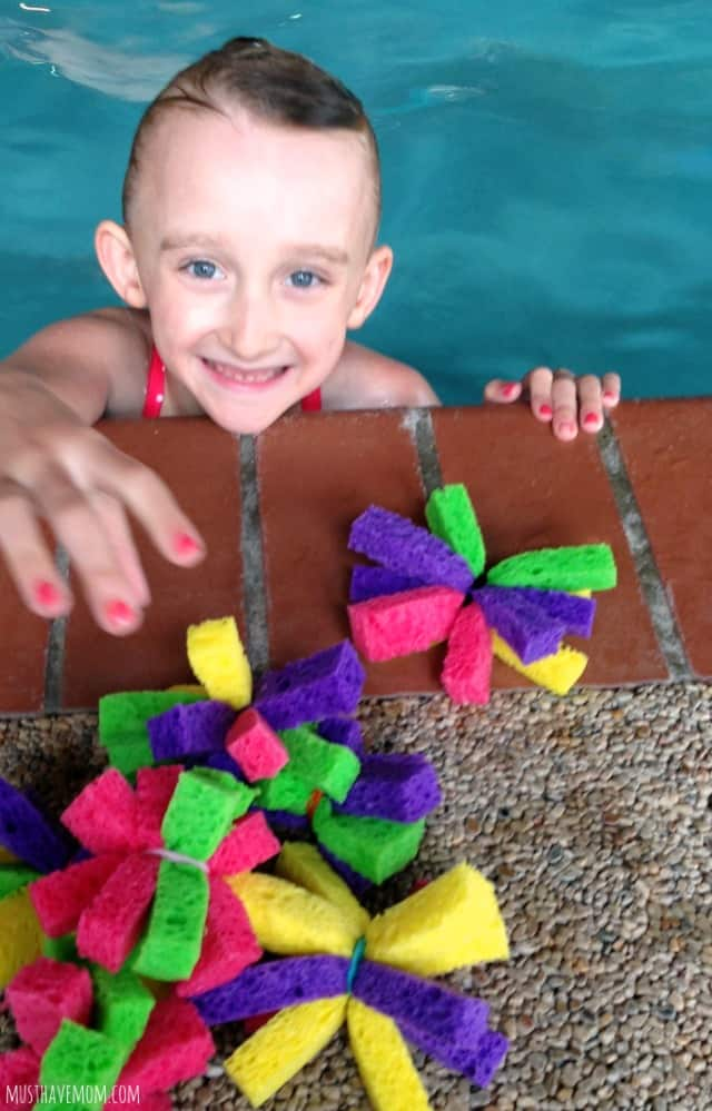 DIY Water Bomb Flowers Pool Toy & Game Idea