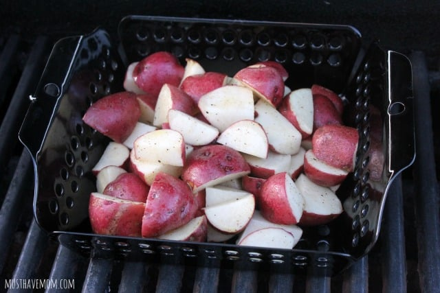 Grilled Baby Red Potatoes Recipe