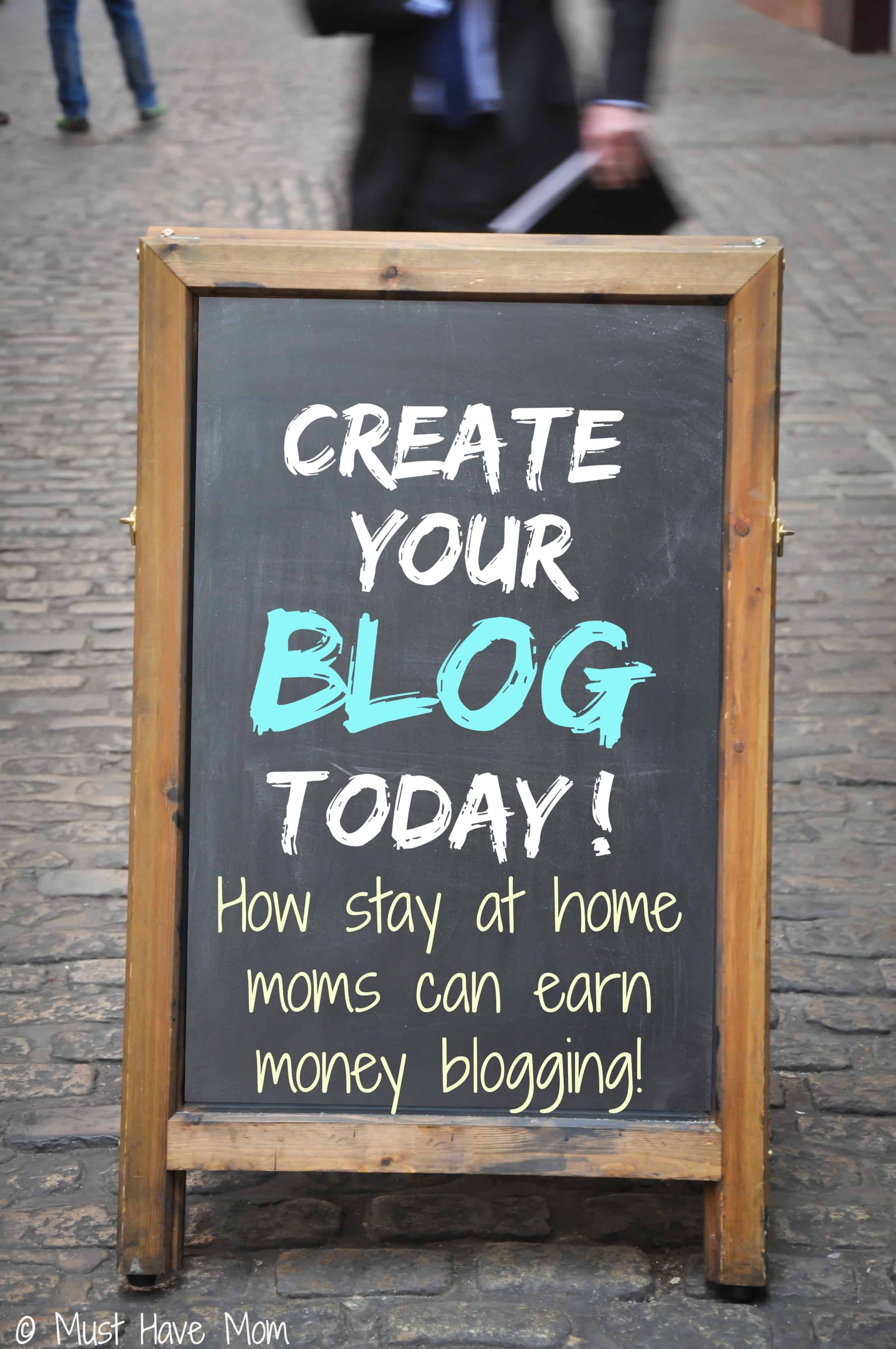 How Stay At Home Moms Can Earn Money Blogging