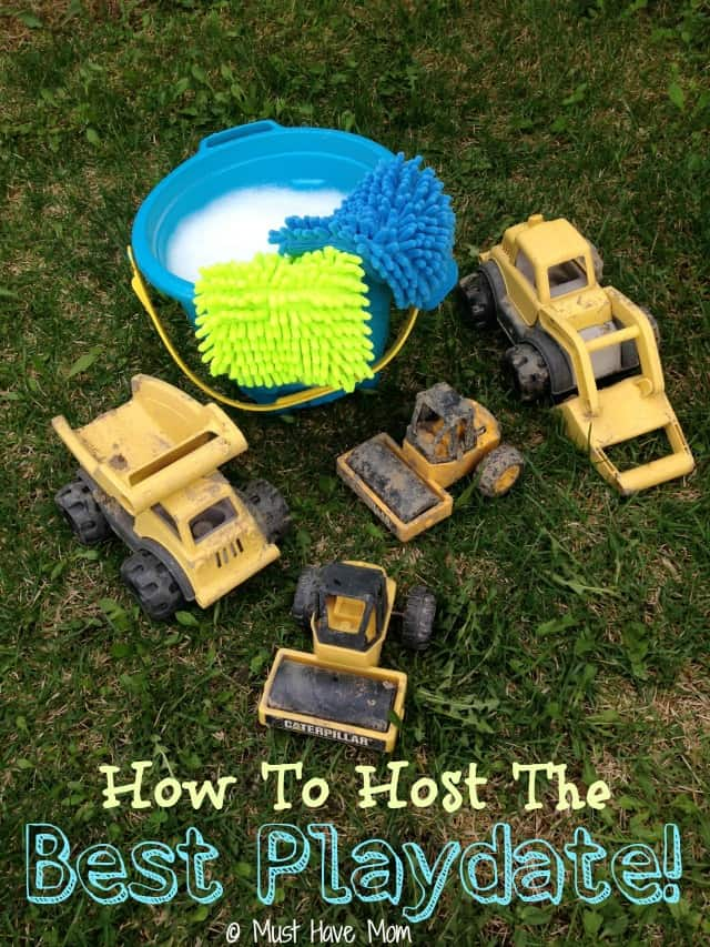 How to host the best playdate! Tips for playdate activities, food and more!