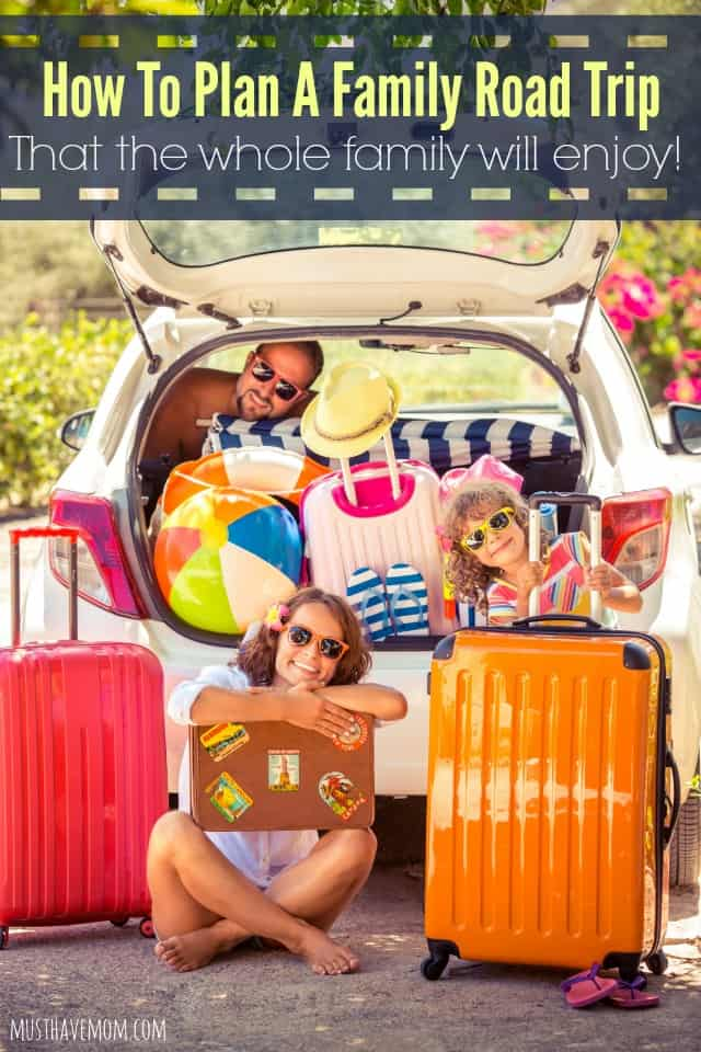 How to plan a family road trip that the whole family will enjoy! Great tips!