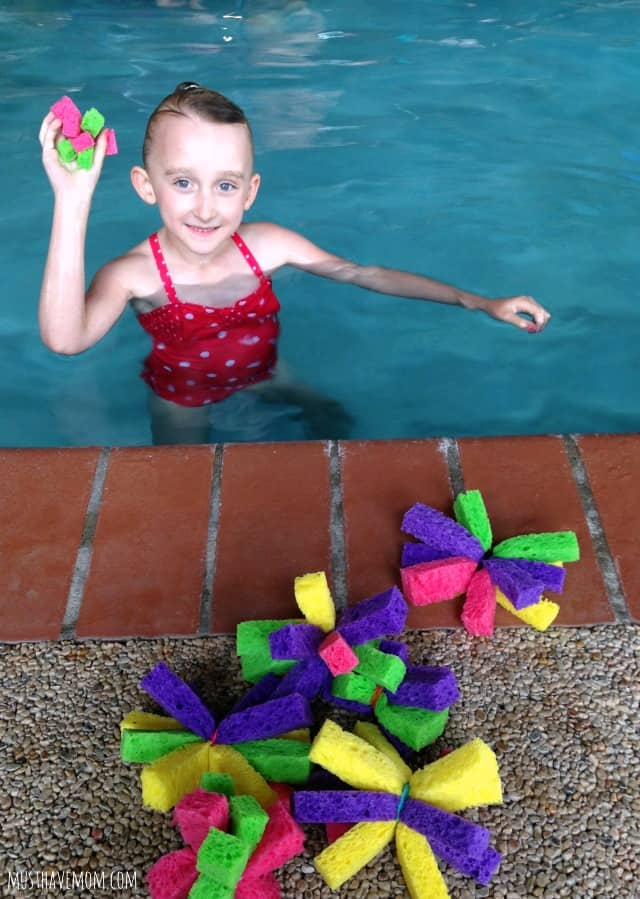 Diy water bomb flowers pool toy game idea for Create your own pool
