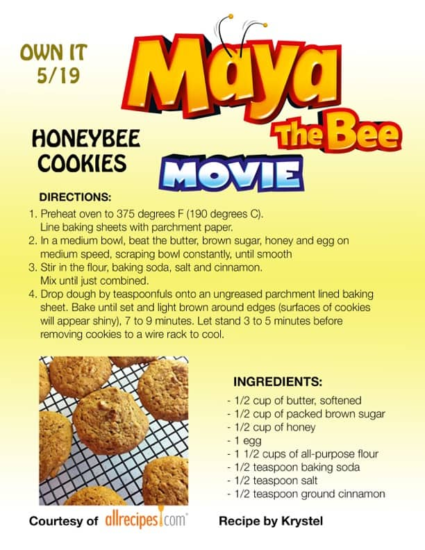 Maya The Bee Recipes