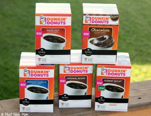 New Dunkin Donuts K-Cups!