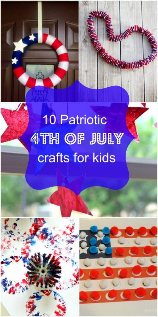 10 Patriotic 4th Of July Crafts For Kids To Make
