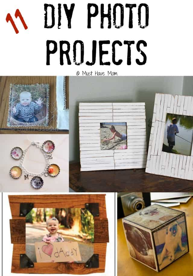 11 Incredible DIY Photo Projects to create with your photos. Love the Instagram photo box idea. Great way to turn digital photos into a display!
