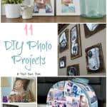 11 Incredible DIY Photo Projects + Easiest Way To Organize Your Photos!