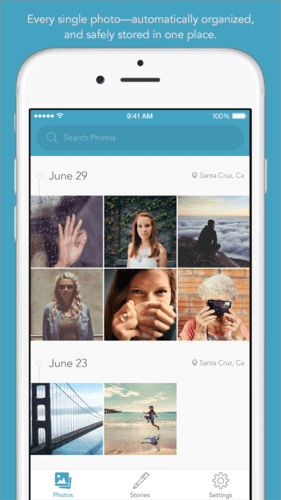 PicJoy app to organize your photos. Easiest way to organize and find photos.