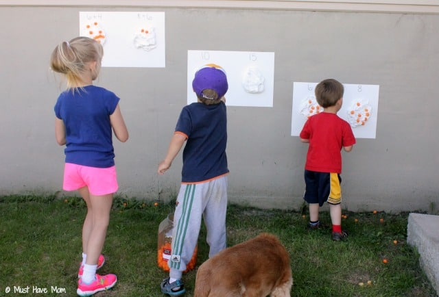 Outdoor Math Game Idea! + Tips and Ideas to prevent the Summer slide the fun way!