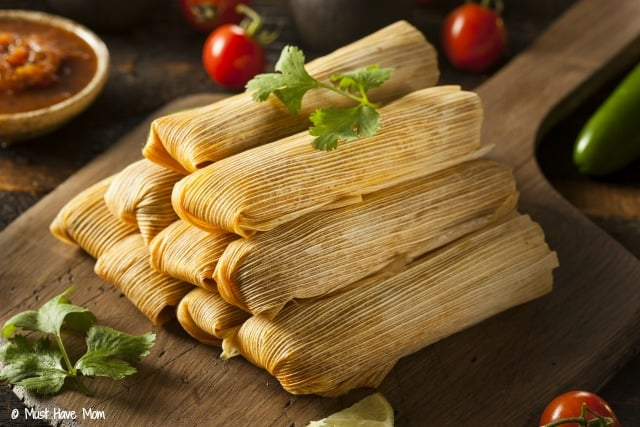 Corn Tamales Recipe. Authentic corn tamales that will please the crowd!