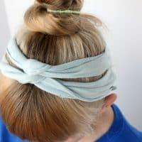 DIY No Sew Headbands From T-Shirts!