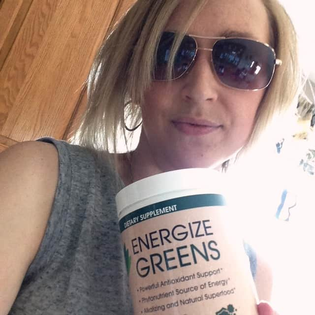 Energize Greens Tropical Smoothie that doesn't TASTE green! This is the best smoothie I've ever had AND it packs all the greens you need so it's super healthy too! But it doesn't taste that way!