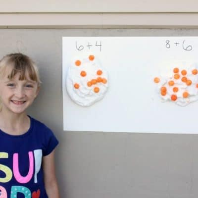 Outdoor Summer Math Game + Tips To Prevent The Summer Slide The Fun Way!