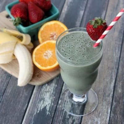 Energize Greens Tropical Smoothie Recipe – The Green Smoothie That Doesn't TASTE Green!