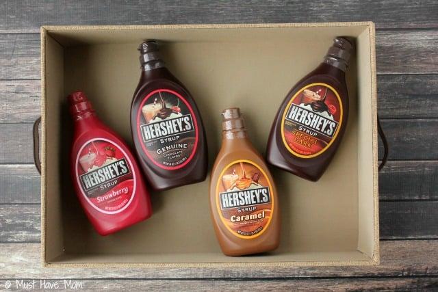 DIY Family Sundae Kit With Hershey Syrup