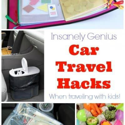 Insanely Genius Car Travel Hacks When Traveling With Kids!
