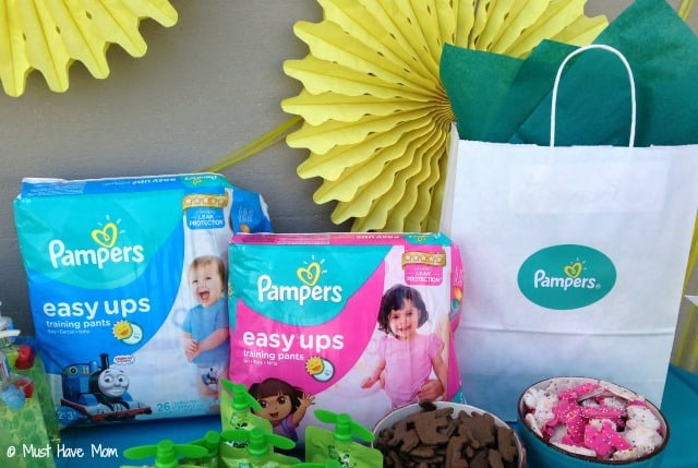 Pampers Easy Ups Potty Training Party Ideas