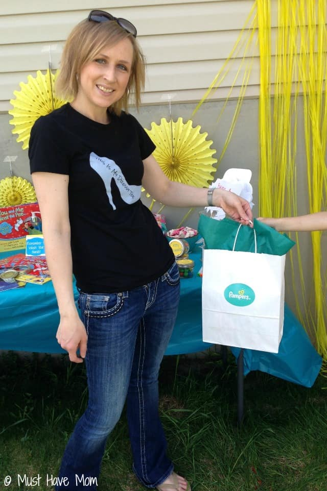 Pampers Potty Training Party Gift Bags
