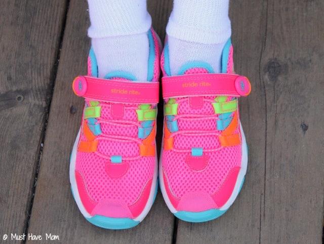 Stride Rite Pink Sneakers