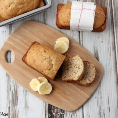Light & Fluffy Banana Bread Recipe