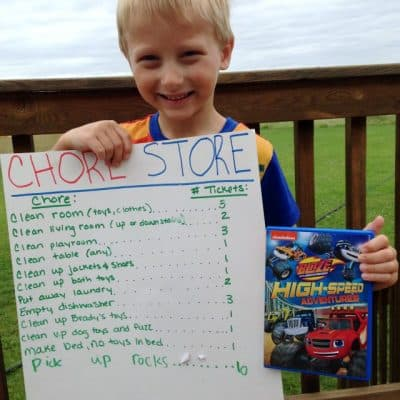How To Create Your Own Chore Store & Help Kids Earn Their Toys