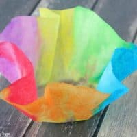 Easy 3 Step DIY Paper Bowls Kids Craft Idea!