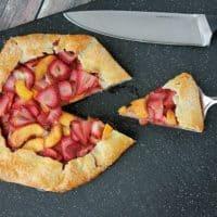 Strawberry Peach Galette Recipe