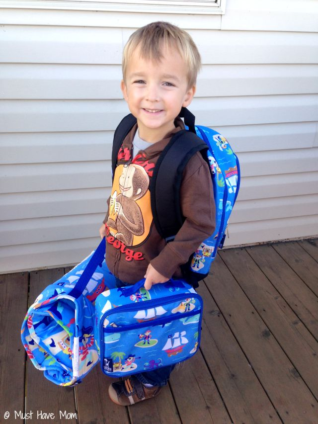 Best Preschool Or Kindergarten Nap Mats, Backpacks & Lunch Boxes! Perfect sizes for little ones!