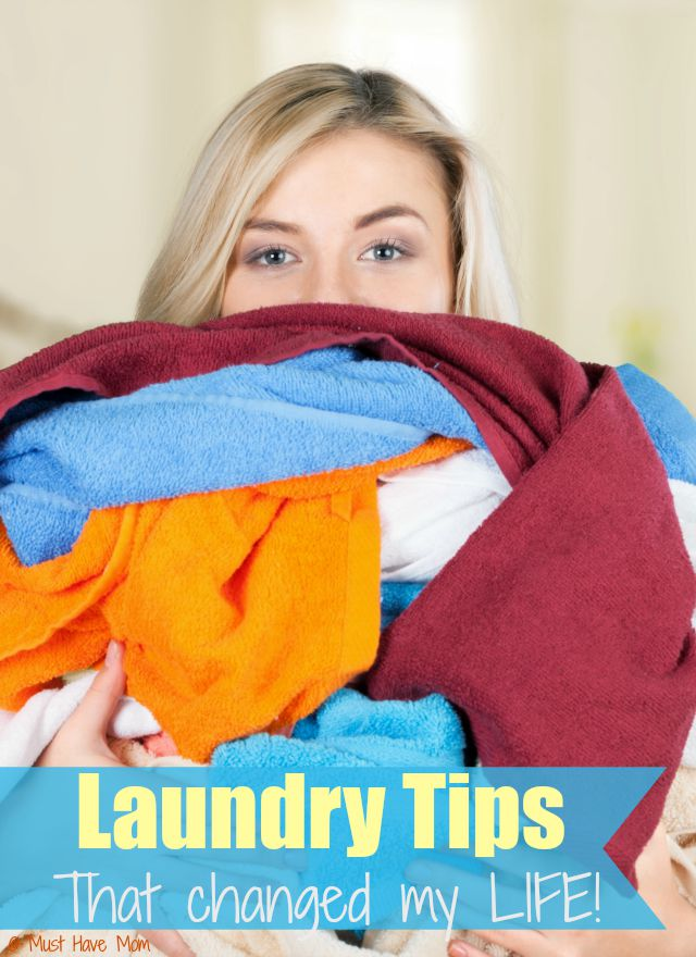 Laundry Tips that changed my LIFE! These laundry hacks are genius and make laundry so much easier!! I only wish I had read this years ago!