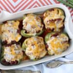 Sloppy Joe Stuffed Peppers Recipe