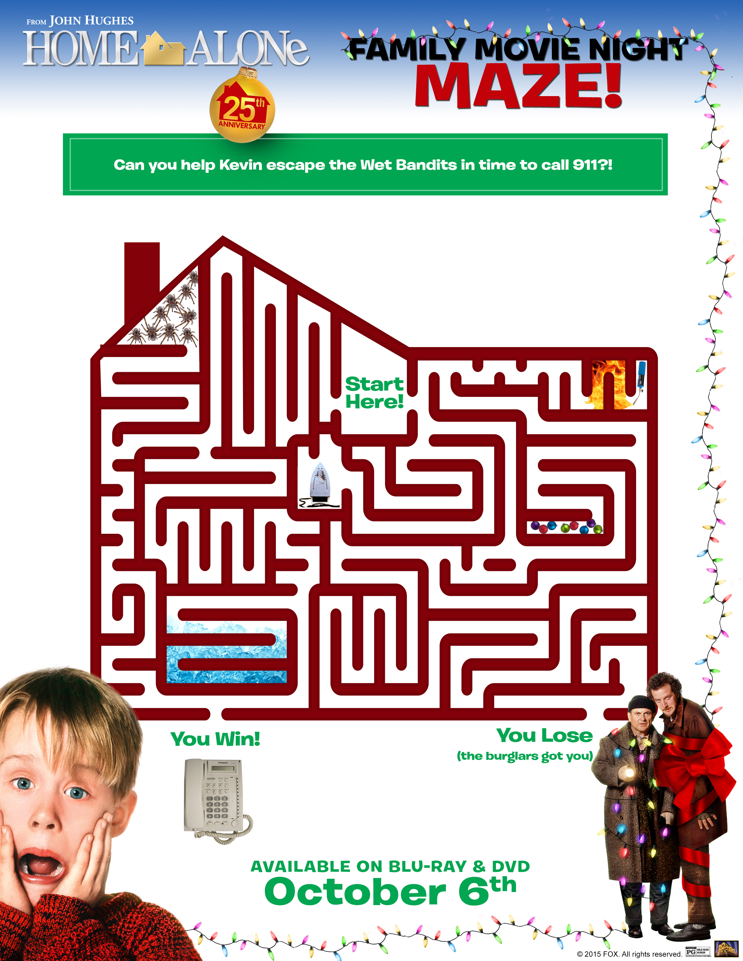 Home Alone: Ultimate Collector's Edition + Free Home Alone Activity Printables