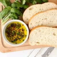 Tuscan Herb Dipping Oil Recipe! Great Way To Wow Your Guests!