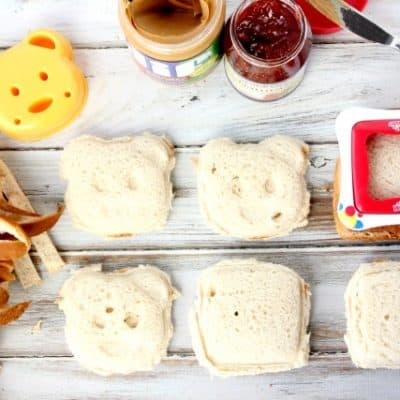 Morning Time Saver! Make Ahead Freezer Peanut Butter & Jelly Sandwich