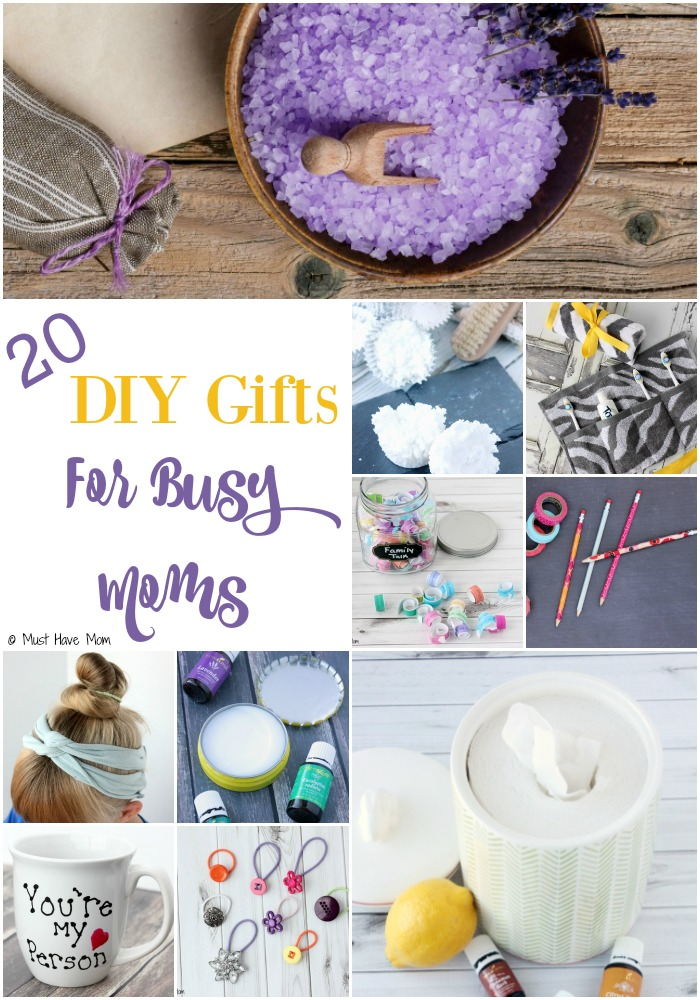 20 diy gifts for busy moms