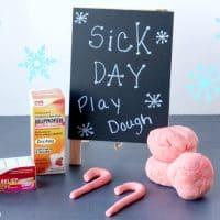 Kids Sick Day Peppermint Play Dough Recipe! Open Up The Sinuses & Keep Little Hands Busy!