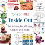FREE Inside Out Activity Sheets, Recipes & More! Inside Out Party Ideas Too!