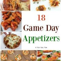 18 Game Day Appetizers