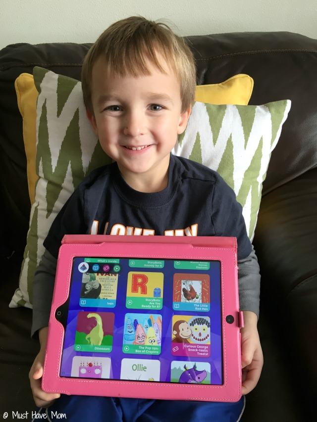 Curious World App review. Subscription based app that gives your child or children access to tons of games, videos and more!