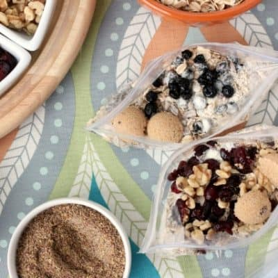 DIY Instant Oatmeal Packets Recipe with Ingredient Combination Ideas