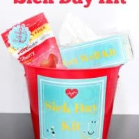 DIY Sick Day Kit With Free Printables!