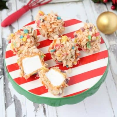 Marshmallow Caramel Rice Krispies Recipe